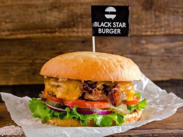 В Воронеже открывают Black Star Burger и обещают бесплатные сэндвичи