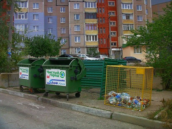 Жителей Ростова возмутил стихийно возникший секонд-хэнд возле мусорников
