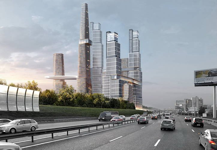 Проект строительства небоскребов на Ленинском проспекте уйдет с молотка