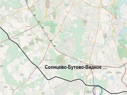 Участок дороги Солнцево-Бутово-Видное готовится к открытию