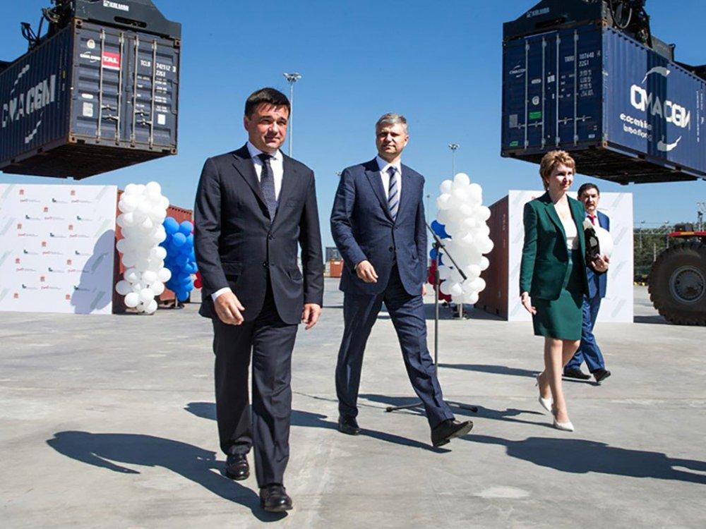 РЖД открыла грузовой терминал к востоку от Москвы