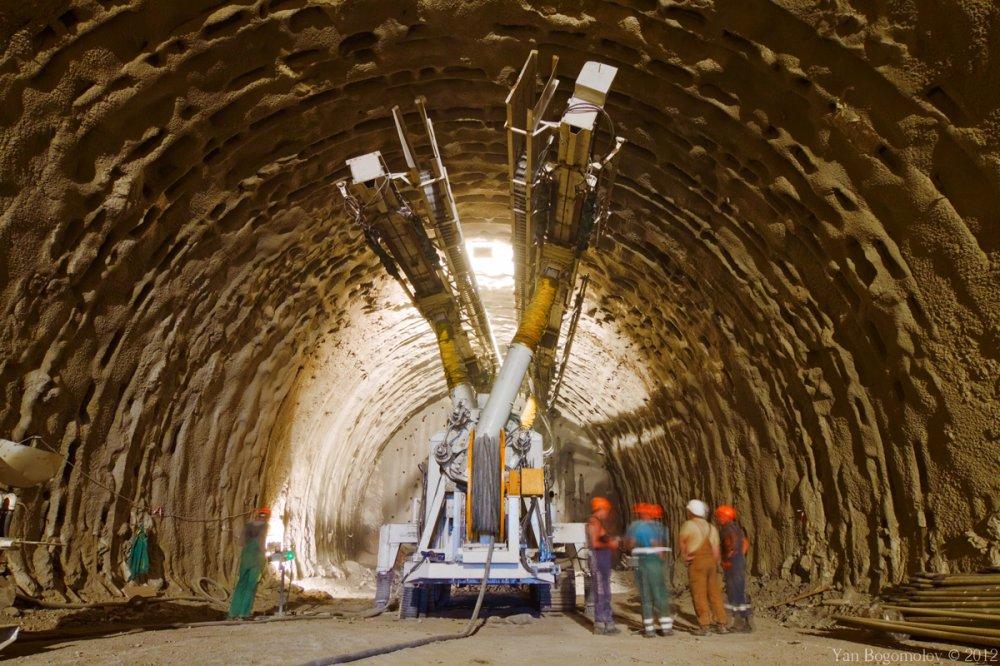 Построен новый тоннель на Большой кольцевой линии