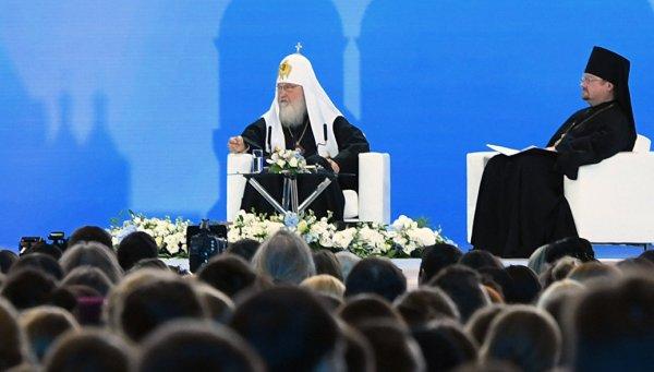 Патриарх Кирилл пообщается с молодежью наIII Международном православном форуме