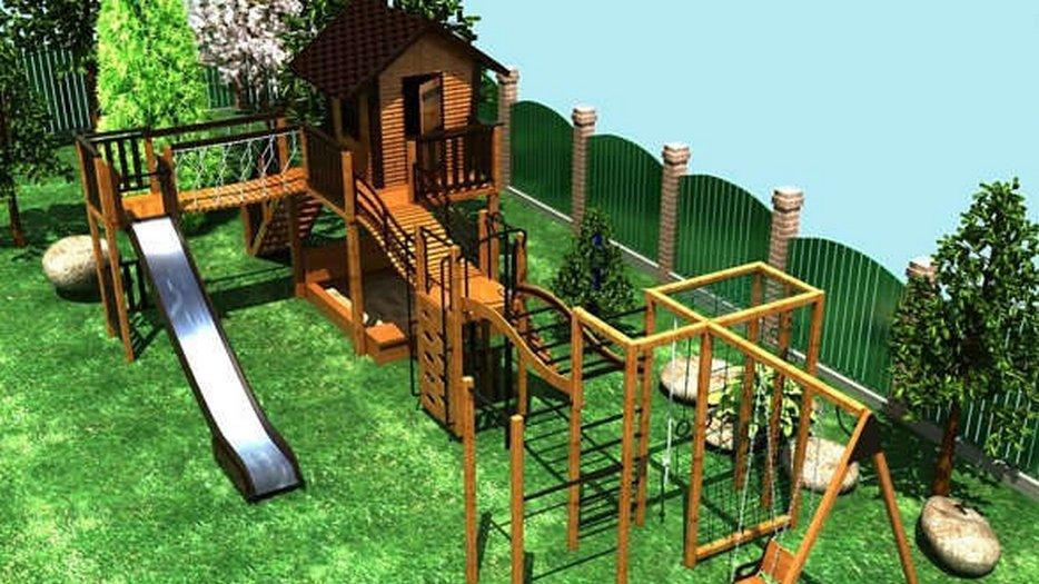 Сколько детских площадок возведут в садовых товариществах Москвы и Подмосковья