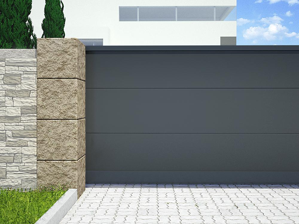 ГК «АЛЮТЕХ» представляет новый оттенок для окрашивания въездных ворот