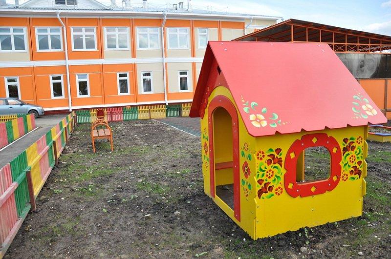 Главгосстройнадзор проверил ход строительства детского сада в Домодедово