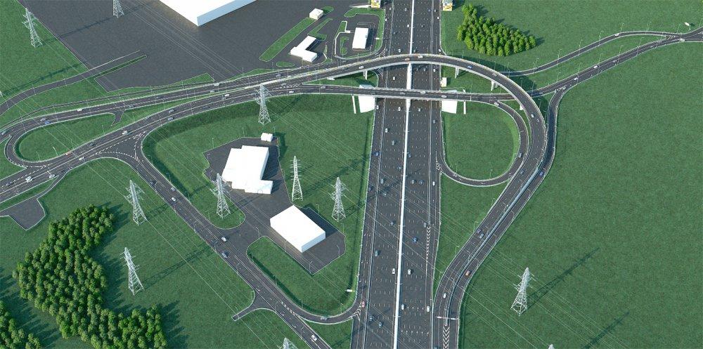 Реконструкция развязки МКАД - Бесединское шоссе завершится до конца 2020
