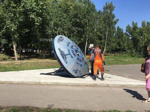 НЛО «похитил» мамонтенка: В Барнауле появился опознанный летающий объект