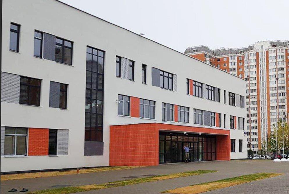 В Балашихе завершена строительством школа на 550 мест