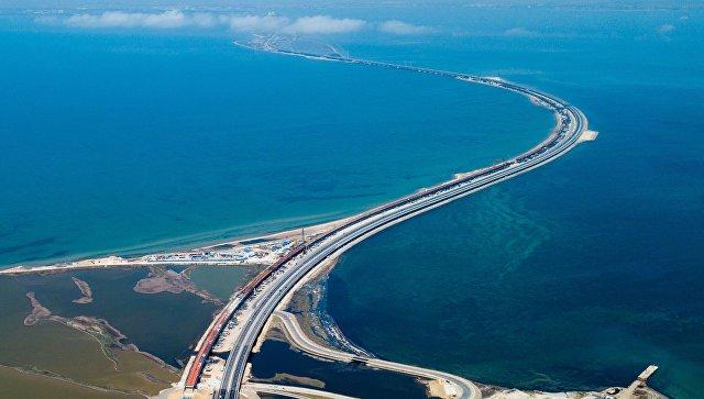 Правительство России перечислило на строительство Крымского моста более 200 млрд