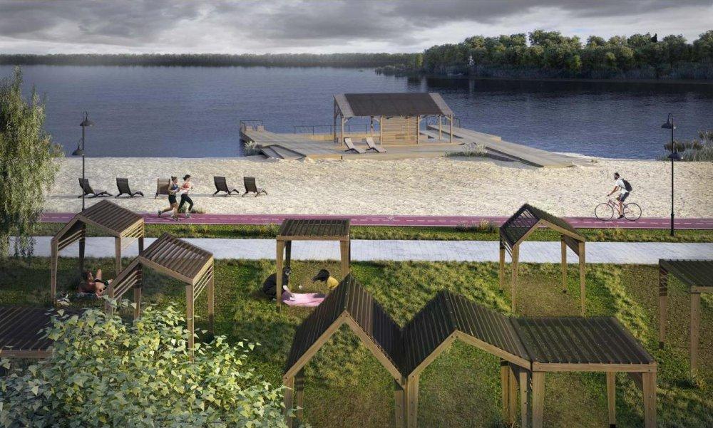 Набережную Сенежского озера планируют обустроить в Солнечногорске