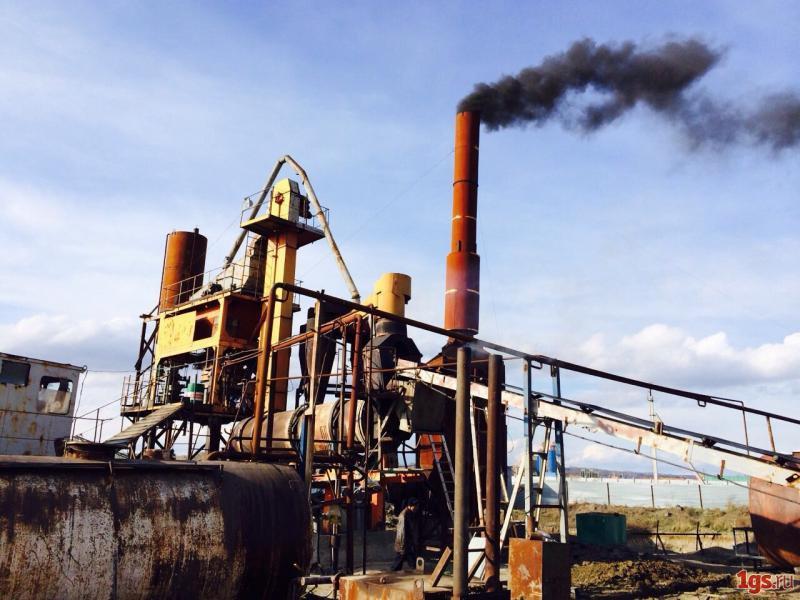 Асфальтобетонный завод в новой Москве временно закрыт из-за вредных выбросов
