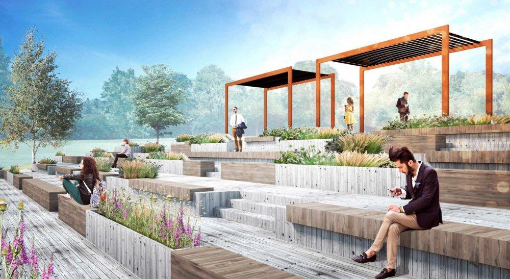 Каким стал благоустроенный ландшафтный парк «Митино»