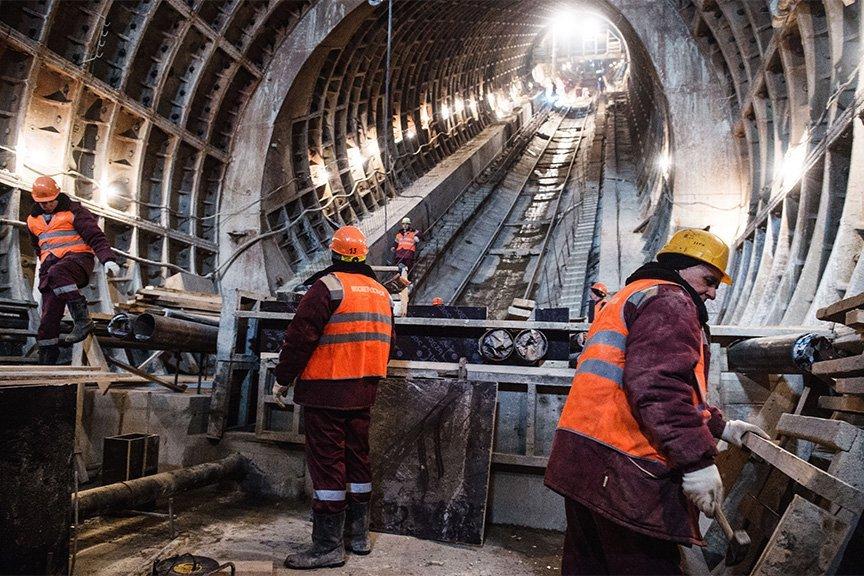 Что происходит на стройке участка Калининско-Солнцевской линии метро