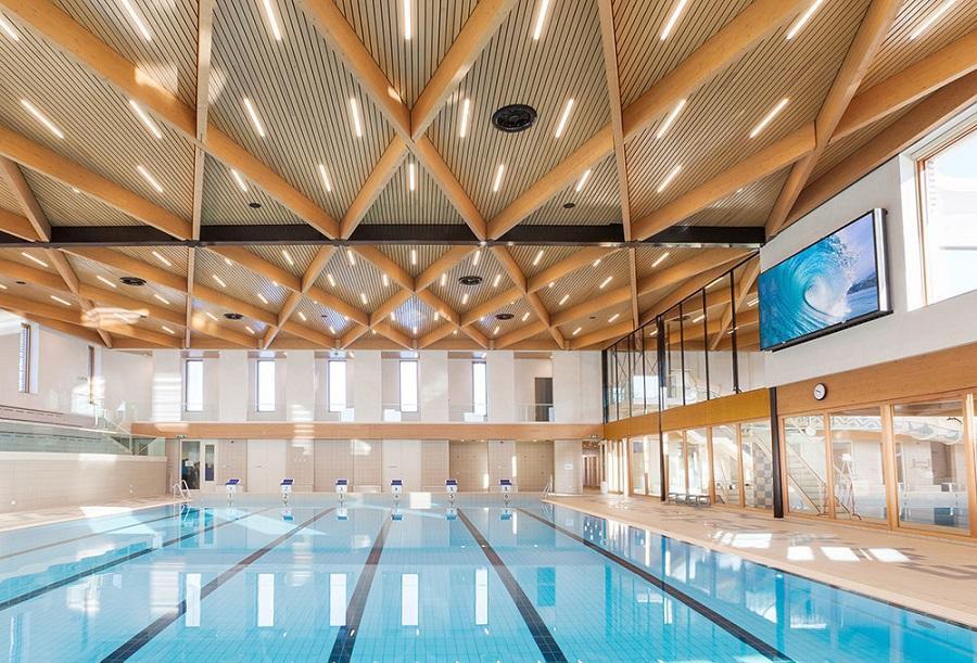 Уникальный спортцентр с бассейном и студией йоги открыли в Люблино