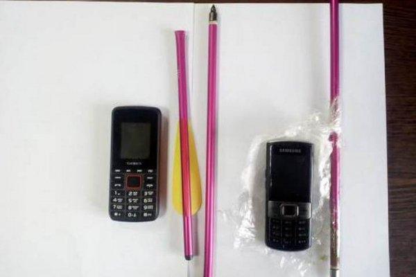 В колонию Саратова пытались доставить телефоны, используя арбалет