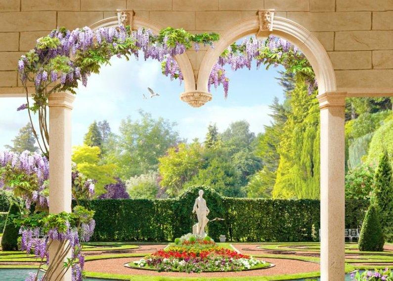 3-метровые арки с цветами и питьевые фонтаны. Как обустроят Сиреневый сад