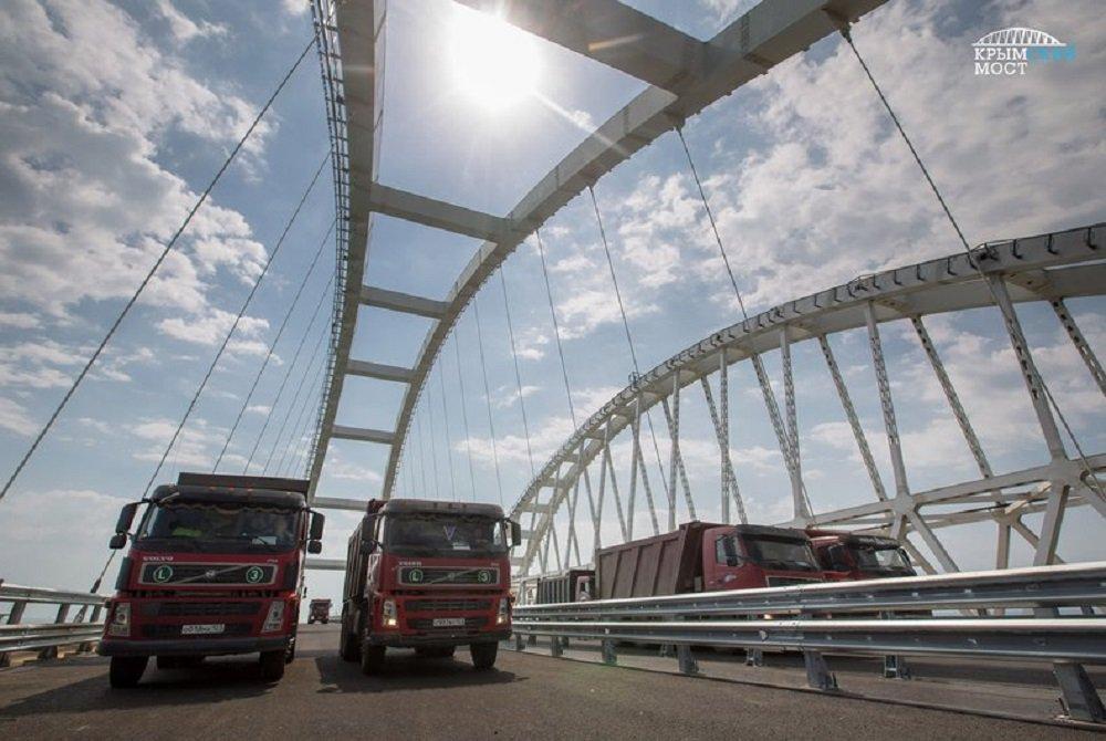 3 млрд руб потратят на установку систем безопасности Крымского моста