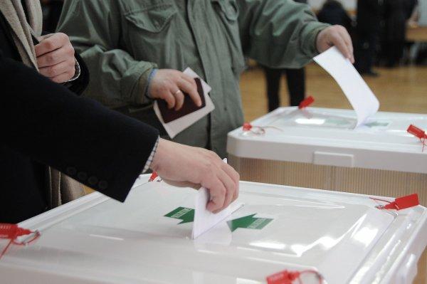 Полиция вынесла наблюдателя на руках с избирательного участка