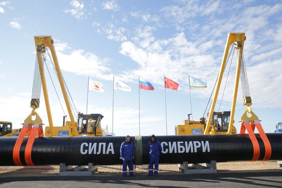 До готовности «Силы Сибири» осталось 40 километров труб