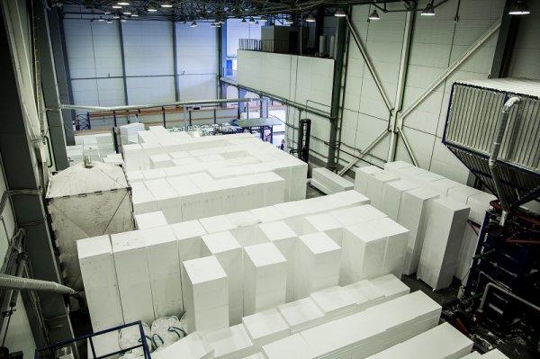 В Кашире запущено производство нового стройматериала из пенополистирола