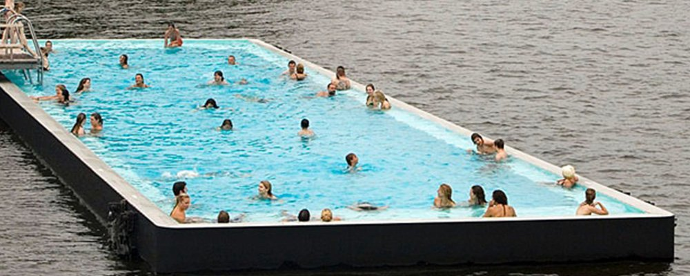 25-метровый бассейн «плавающий» бассейн установят на Москва-реке