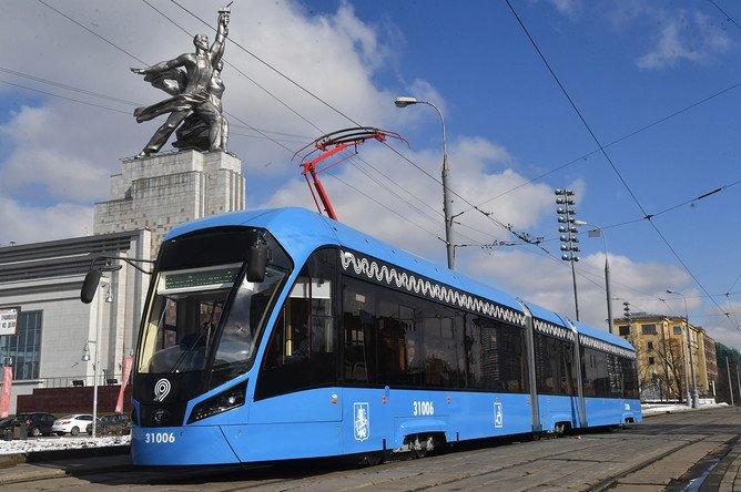 201-й трамвай нового поколения «Витязь-М» выведен на маршруты Москвы