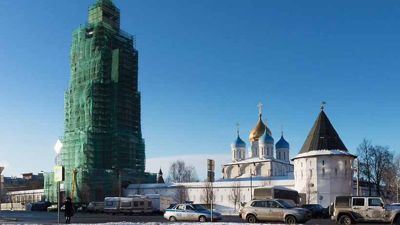 Что известно о ходе реставрации Новоспасского монастыря XVII века