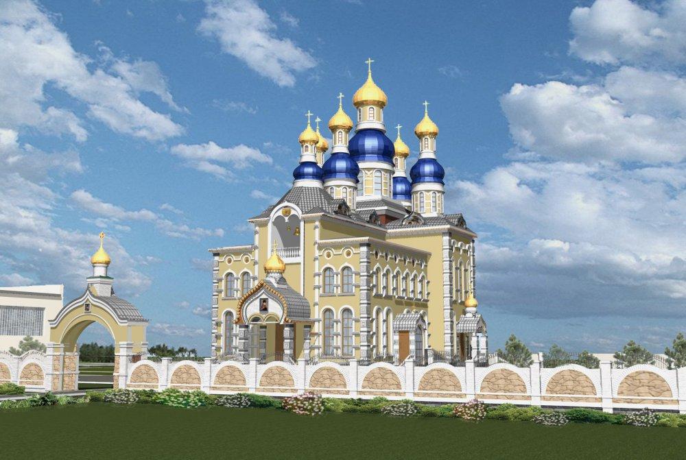 Девять гектаров земли передано под строительство храма в Роговском