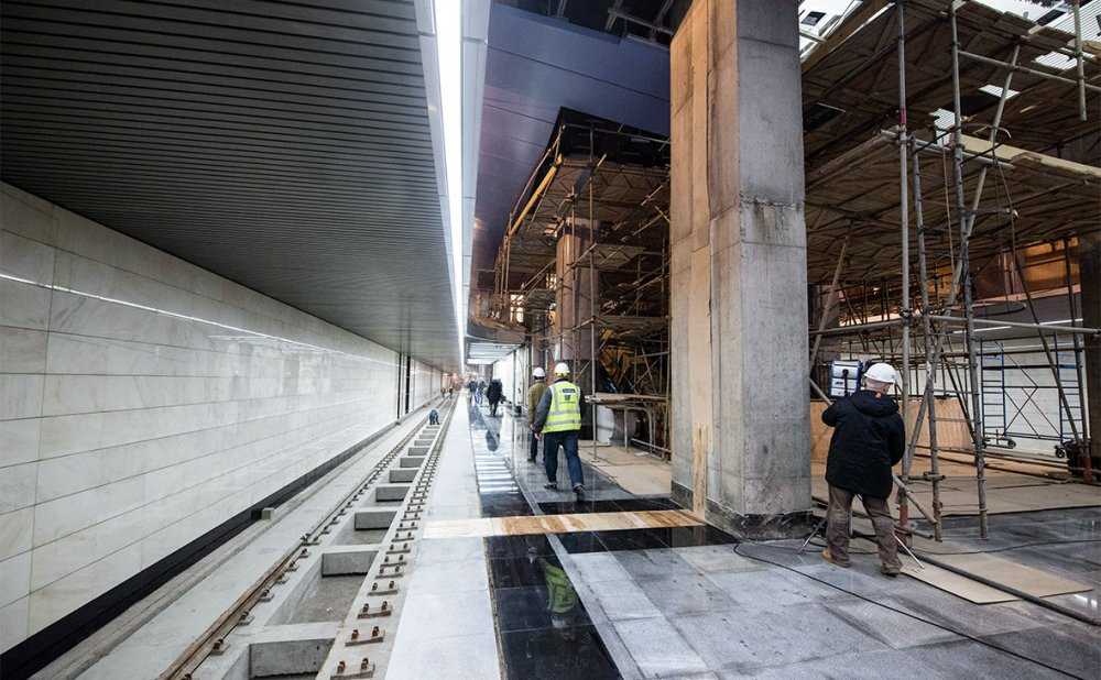 Что происходит на стройке станции метро «Беломорская»