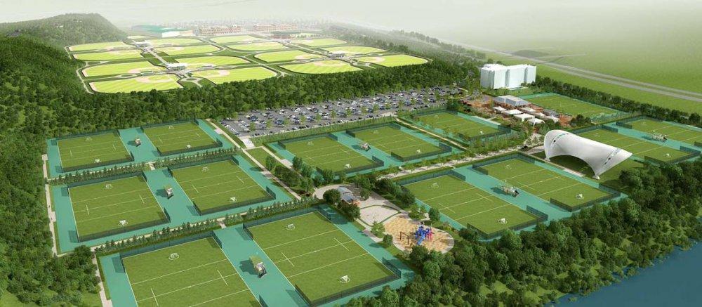 Спортивный городок площадью 4,000 кв м создадут в парке у реки Битца