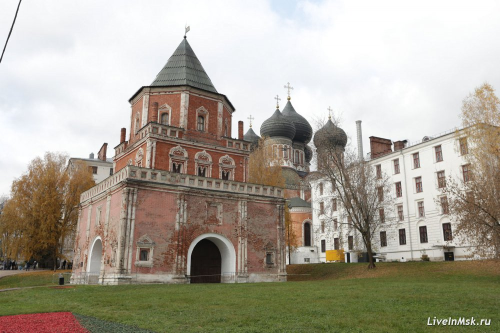 Как отреставрируют Мостовую башню XVII века в Измайлове