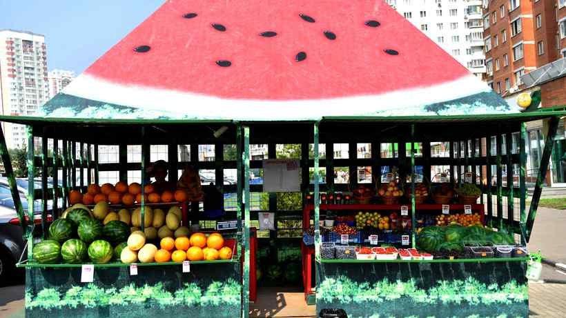Уличная торговля арбузами и дынями завершится 1 октября — Госинспекция