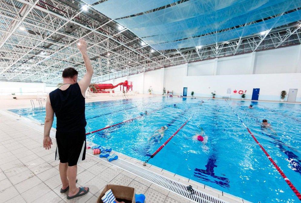 Ледовый дворец с бассейном откроется в Лужниках в 2020 году