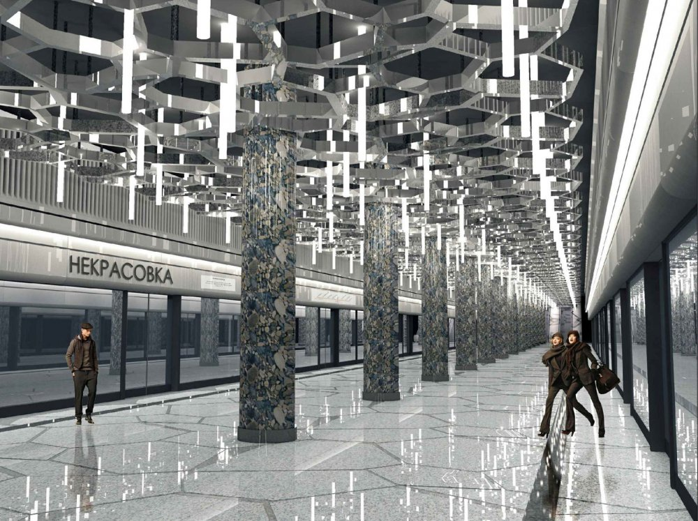 Самый длинный участок метро Некрасовка-Рассказовка откроют в 2021 году