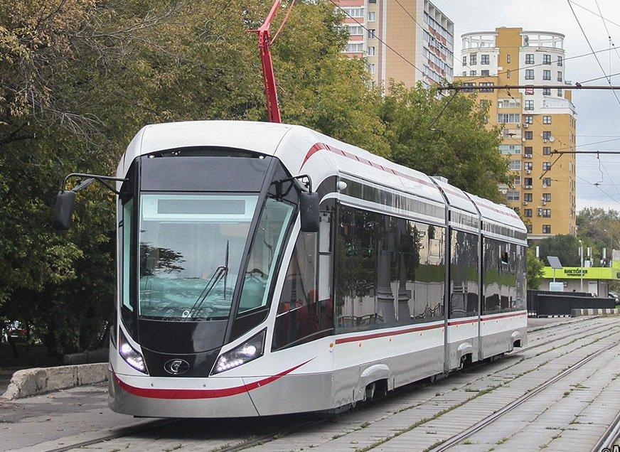 Ультрасовременные трамваи «Витязь-М» запустят в Чертанове