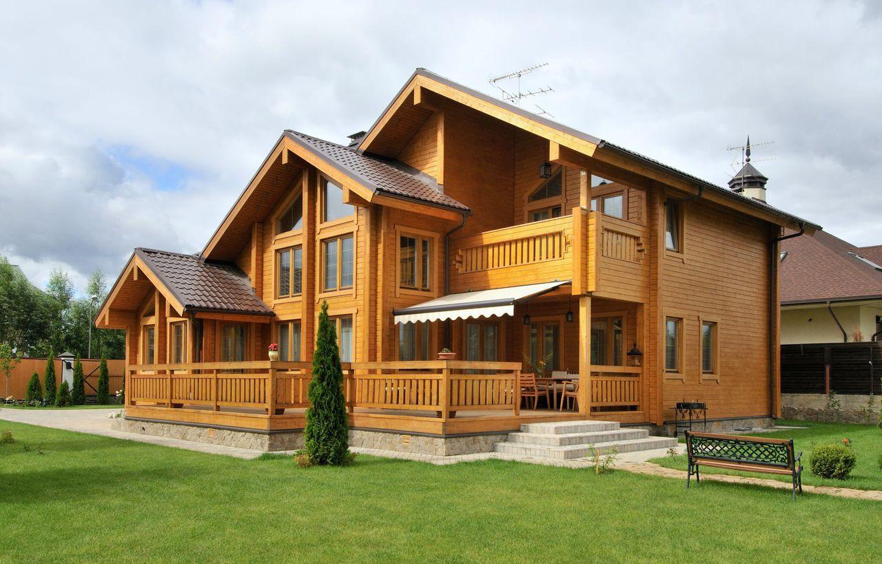 Загородный деревянный дом от профессионалов