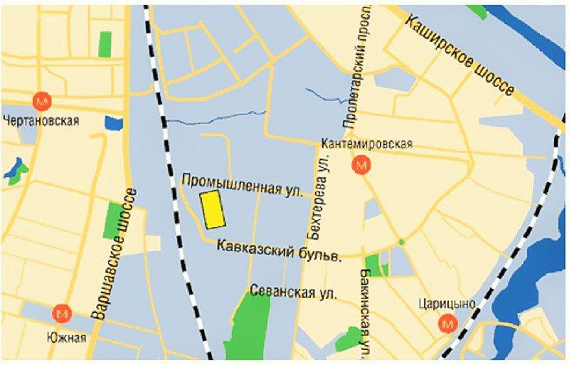Участок под строительство завода в Москве выставлен на торги за 26 млн руб