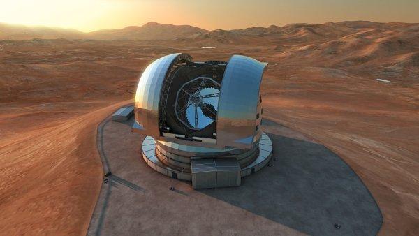 На священной горе Гавайев возведут огромнейший в мире телескоп
