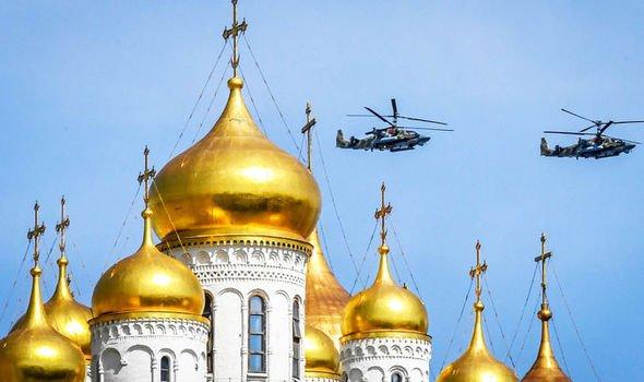 Express: Строительство главного храма ВС РФ — новейшее оружие Путина