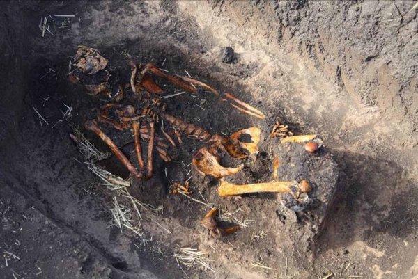 В Сарове археологи обнаружили останки офицера царской армии
