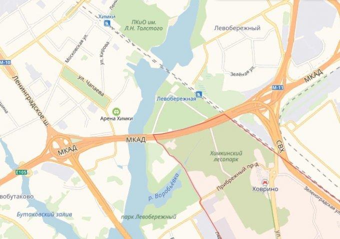 Выделенную полосу откроют на Ленинградском шоссе из-за закрытия «Ховрино»