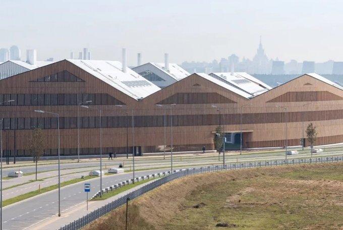 В «Сколково» завершилось строительство кампуса необычной формы